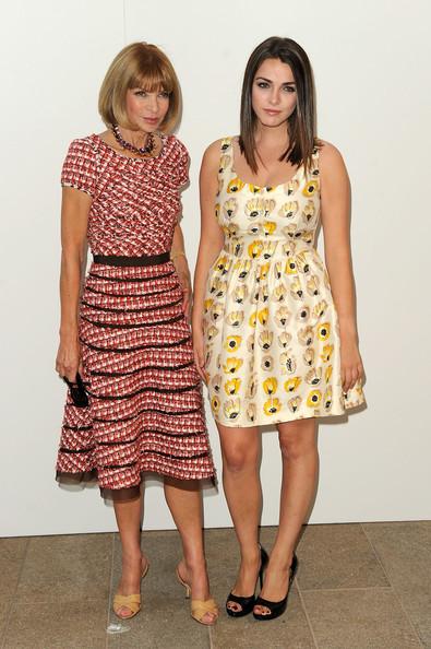 アナ・ウィンター(Anna Wintour)&ビー・シェイファー(Bee Shaffer)
