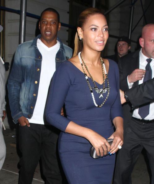 ビヨンセ(Beyonce)、ジェイ・ジー(JayZ)の写真