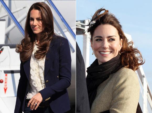 ケイト・ミドルトン(Kate Middleton)のヘアスタイルの写真