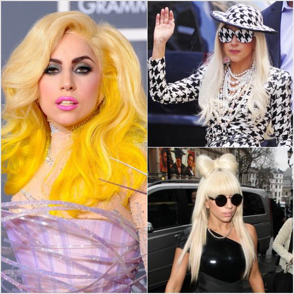 レディー・ガガ(Lady Gaga):ロングヘアースタイル