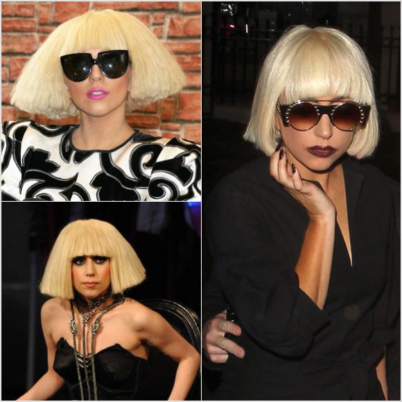 レディー・ガガ(Lady Gaga):ショートヘアースタイル