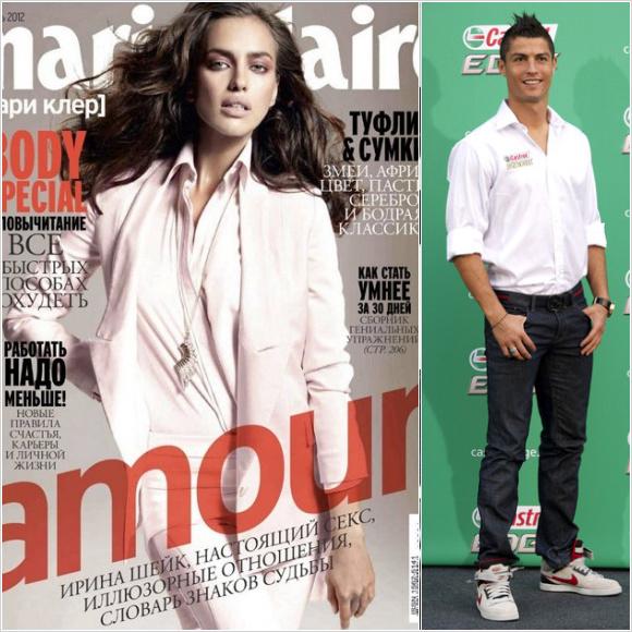 イリーナ・シェイク(Irina Shayk)&クリスティアーノ・ロナウド(Cristiano Ronaldo)