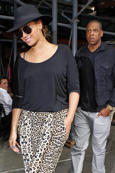 ビヨンセ(Beyonce)とジェイ・Z (Jay-Z)がランチデート