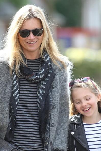 ケイト・モスと娘ライラちゃんの画像