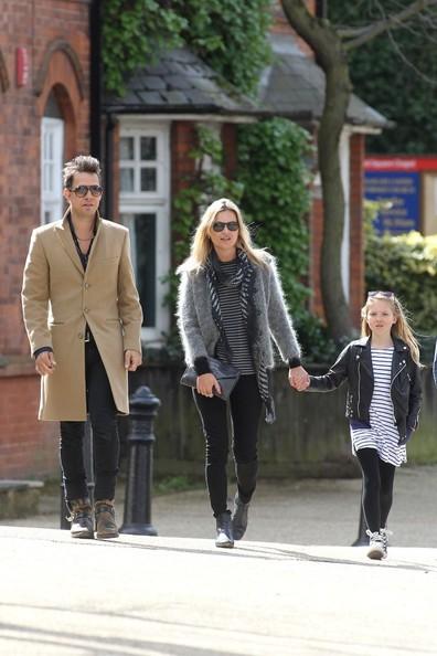 ケイト・モスの家族画像