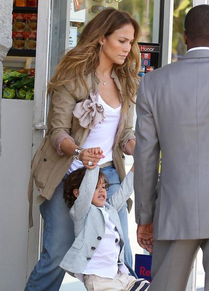 ジェニファー・ロペスと息子マックスちゃんの画像4