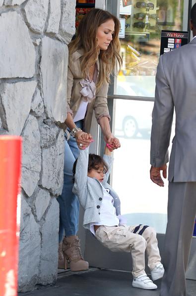ジェニファー・ロペスと息子マックスちゃんの画像2