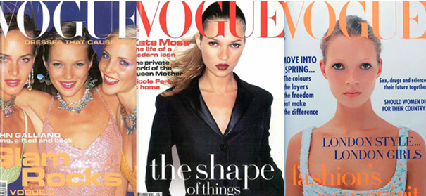 ケイトモス&ヴォーグ表紙(1993年~1994年)