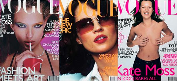 ケイトモス&ヴォーグ表紙(1999年~2000年)