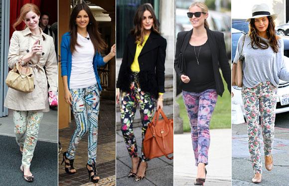 今年春のトレンド、華やかな花柄パンツ。 春ですね! 今年大注目にされてる、柄パンツとカラーパンツ。 シンプルな無地のTシャツに合わせるだけで、華やかな