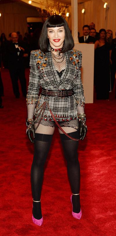 Madonna-2013Met Gala4