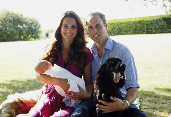 Catherine-George-William